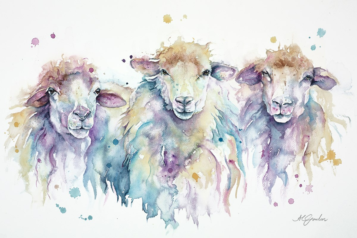 Stopping to Stare by amanda gordon -  sized 21x14 inches. Available from Whitewall Galleries